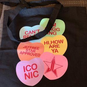 Jeffree star cosmetics tote bag brand new
